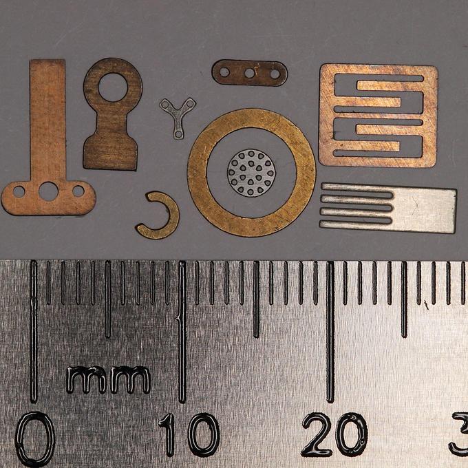 Precision Metal Etchings
