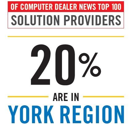 Computer Dealer News Top 100 - 20 York Region Companies