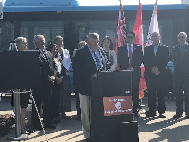 Subway Announcement in Richmond Hill