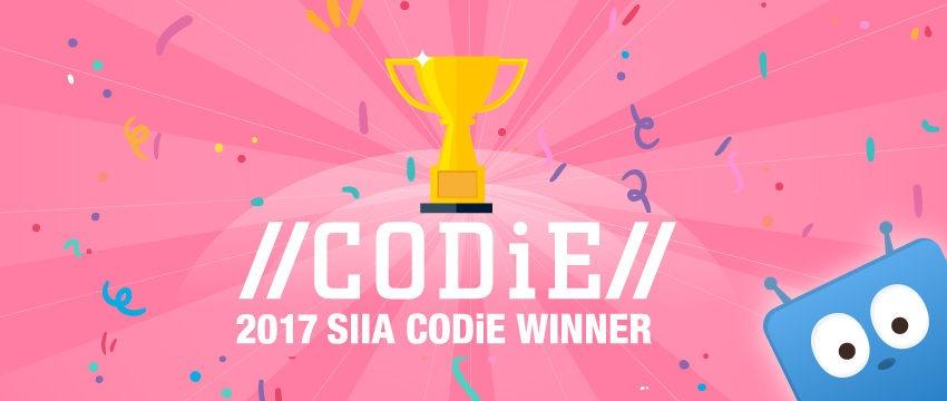 Edbsy SIIA Codie Winner