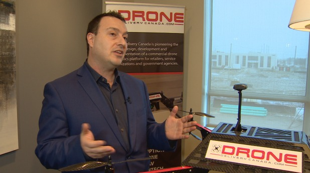 Vaughan-Based Drone Delivery Canada