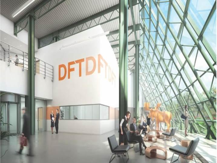 DFT data centre in vaughan
