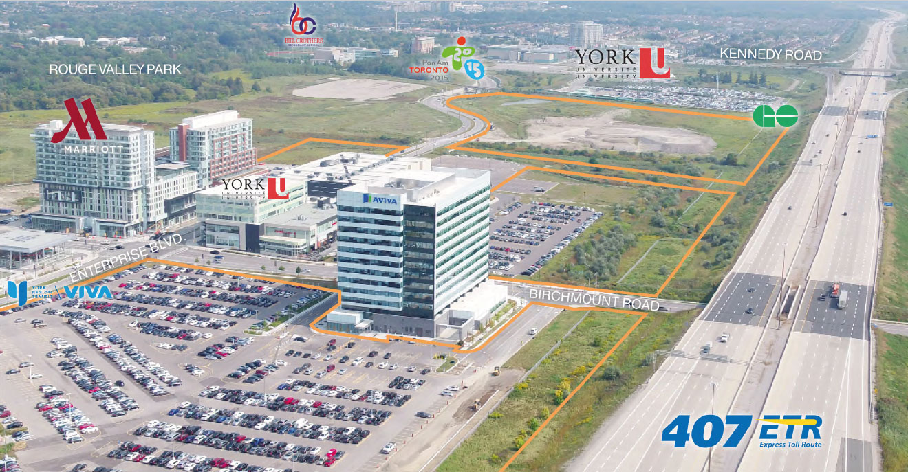 Facilities Near Downtown Markham Site