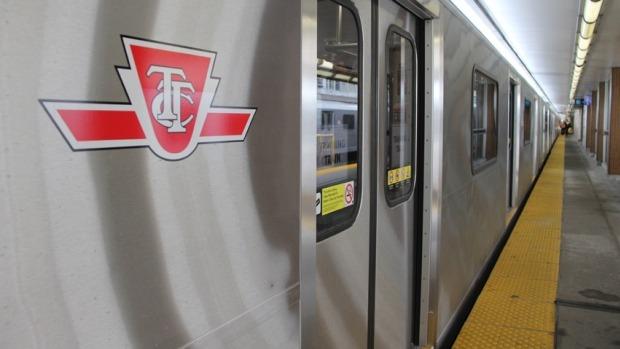 Subway Train to York Region