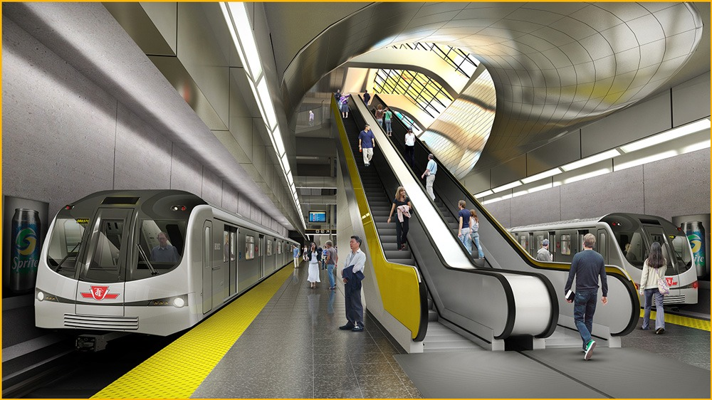 Subway Station Rendering