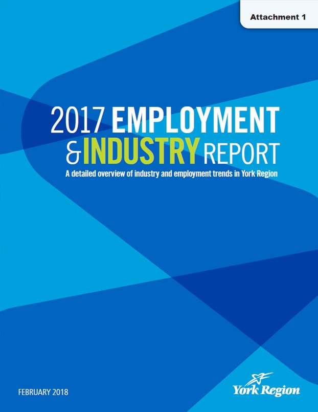 2017 York Region Employment & Industry Report