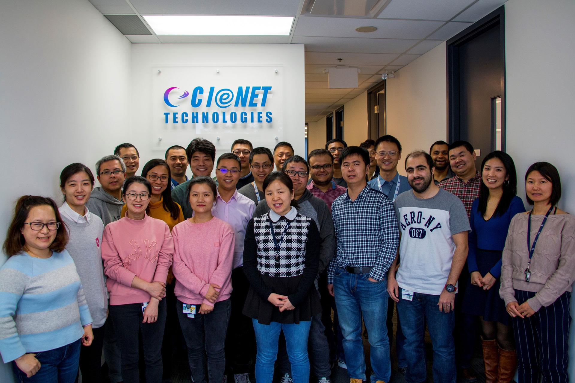CIeNET staff in Markham