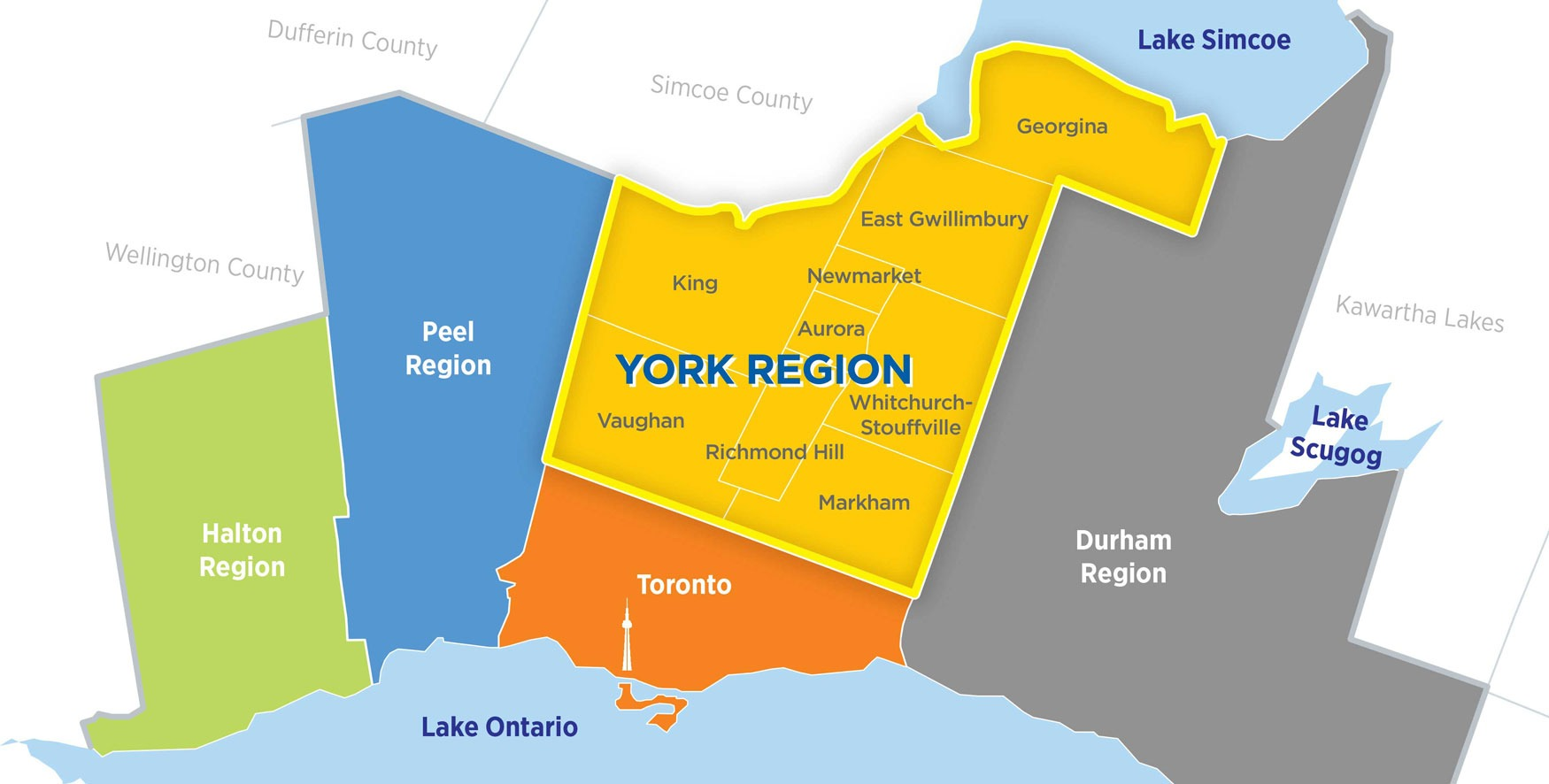 Greater Toronto Area's York Region