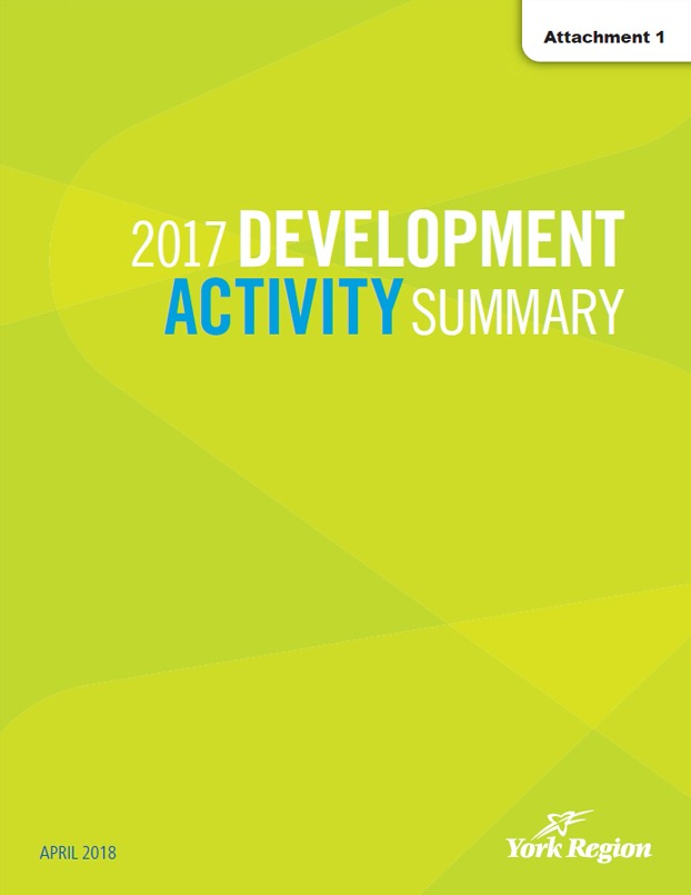 2017 York Region Development Activity Summary