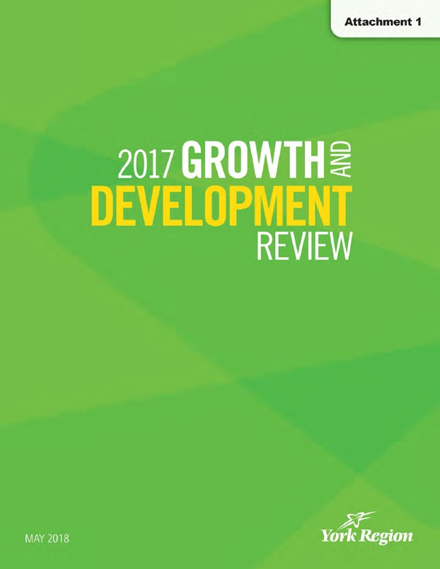 2017 York Region Growth and Development Review