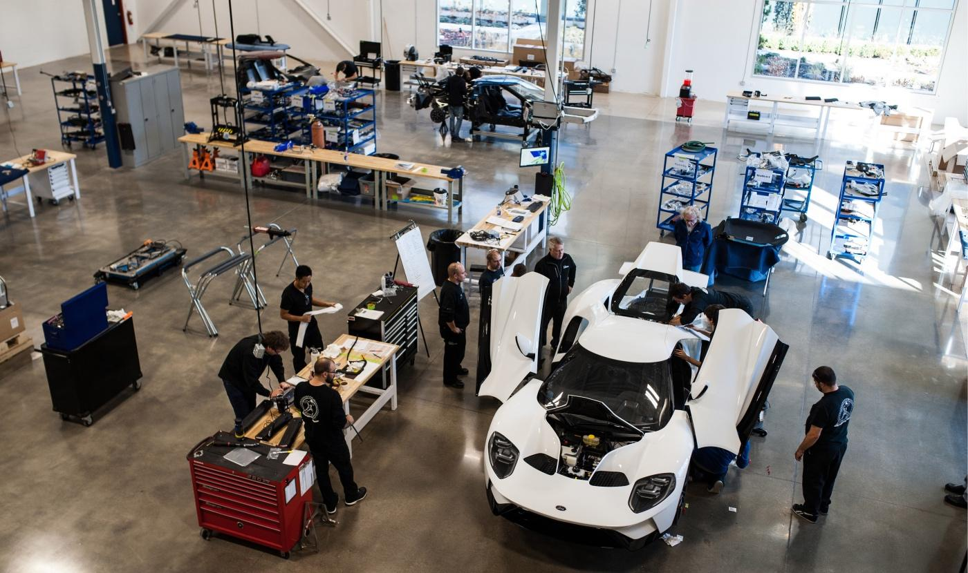 The Ford GT Supercar is built at Multimatic in Markham, York Region.