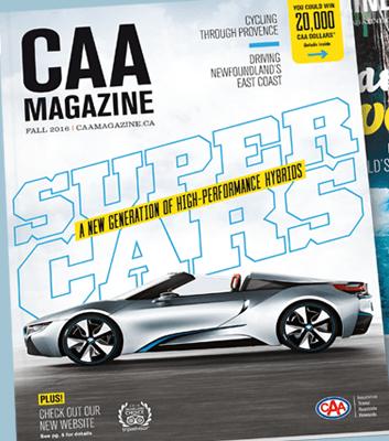 CAA magazine cover