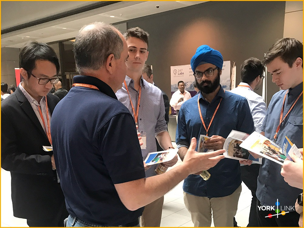 Robert Unterman Answers Questions at Toronto Tech Summit