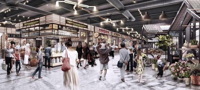 Food Market Rendering in Newmarket