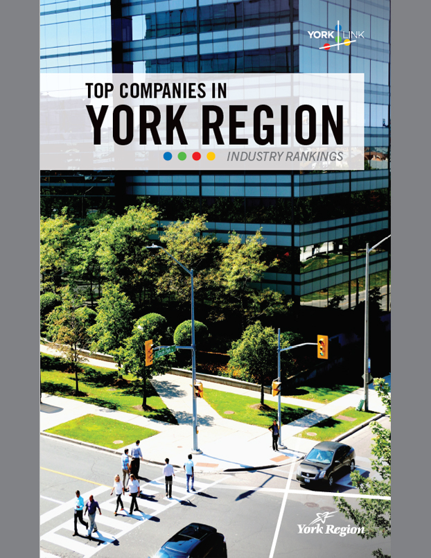 Top Companies Industry Rankings in York Region