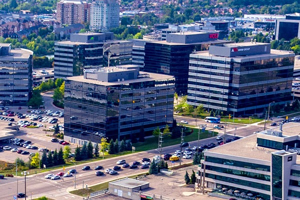 Office Buildings in Toronto Area's York Region