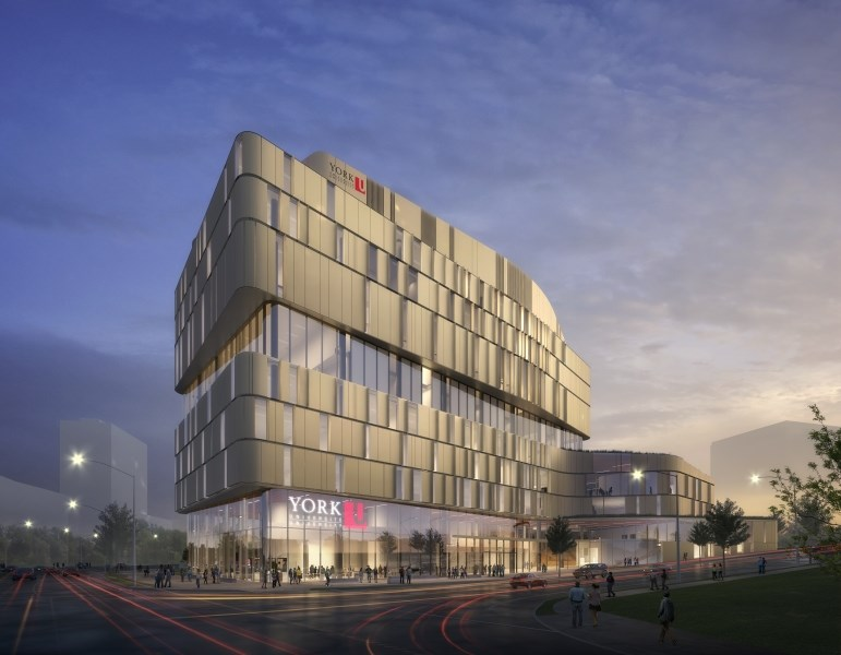 York University Campus Rendering