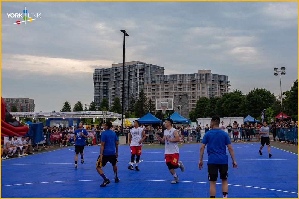 Basketball Tournament in Markham, York Region