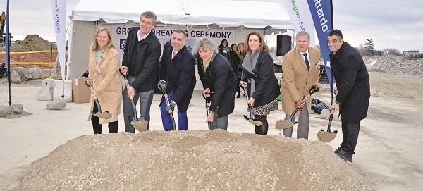 Hotel Groundbreaking in Aurora
