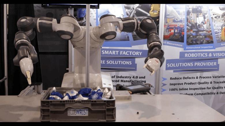 Bluewrist Robot