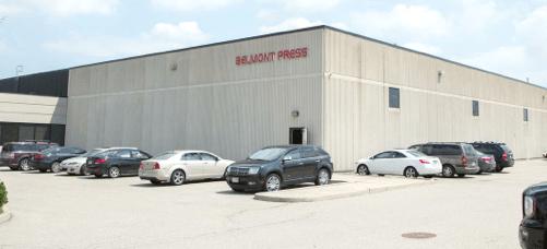 Belmont Press plant