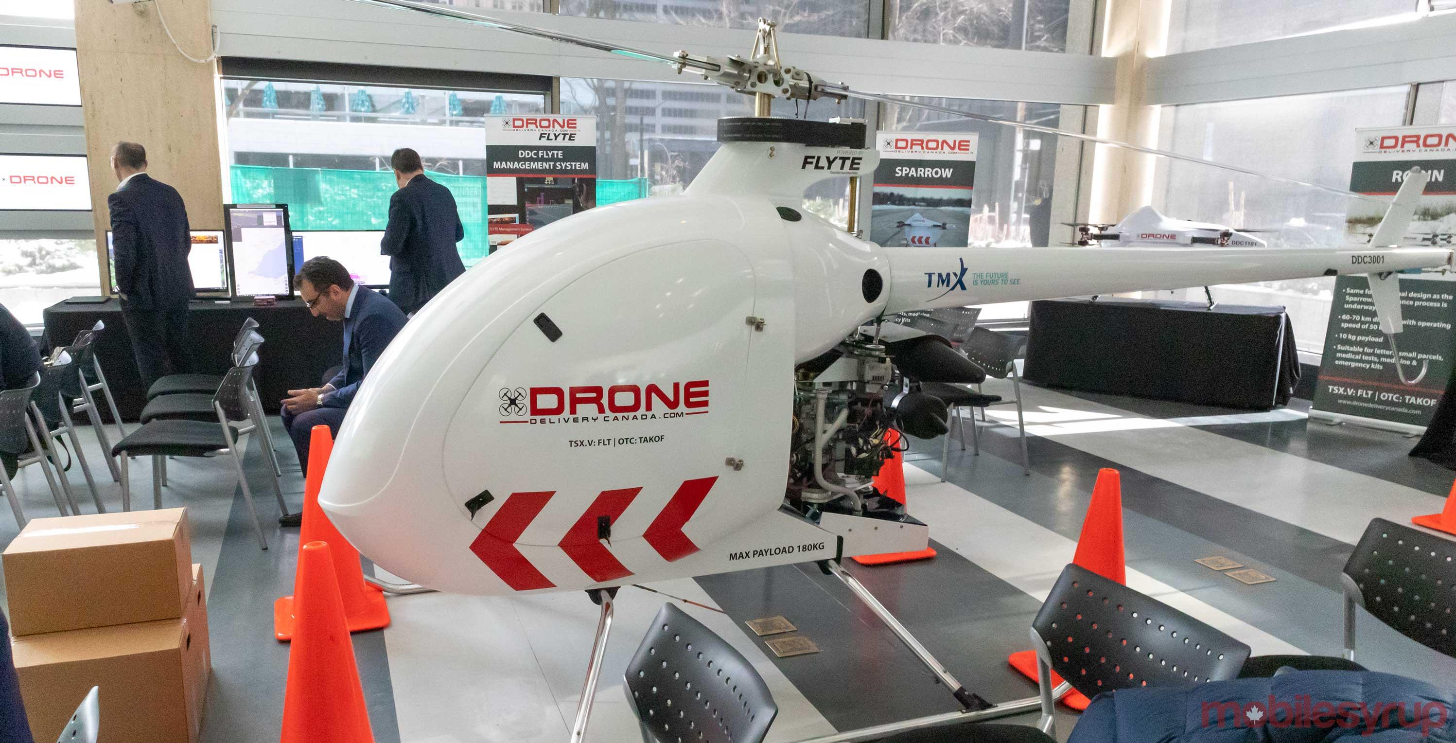 DDC Condor Drone via MobileSyrup