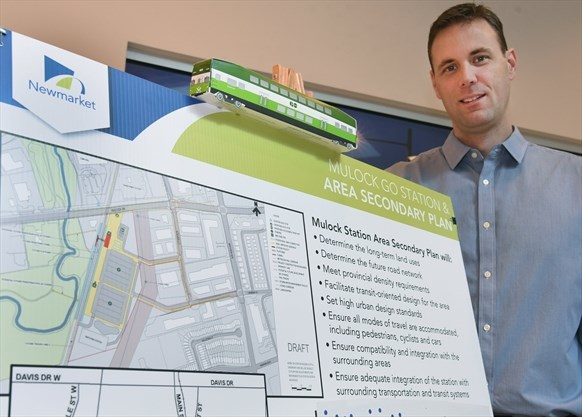 Mulock Go Station area plans