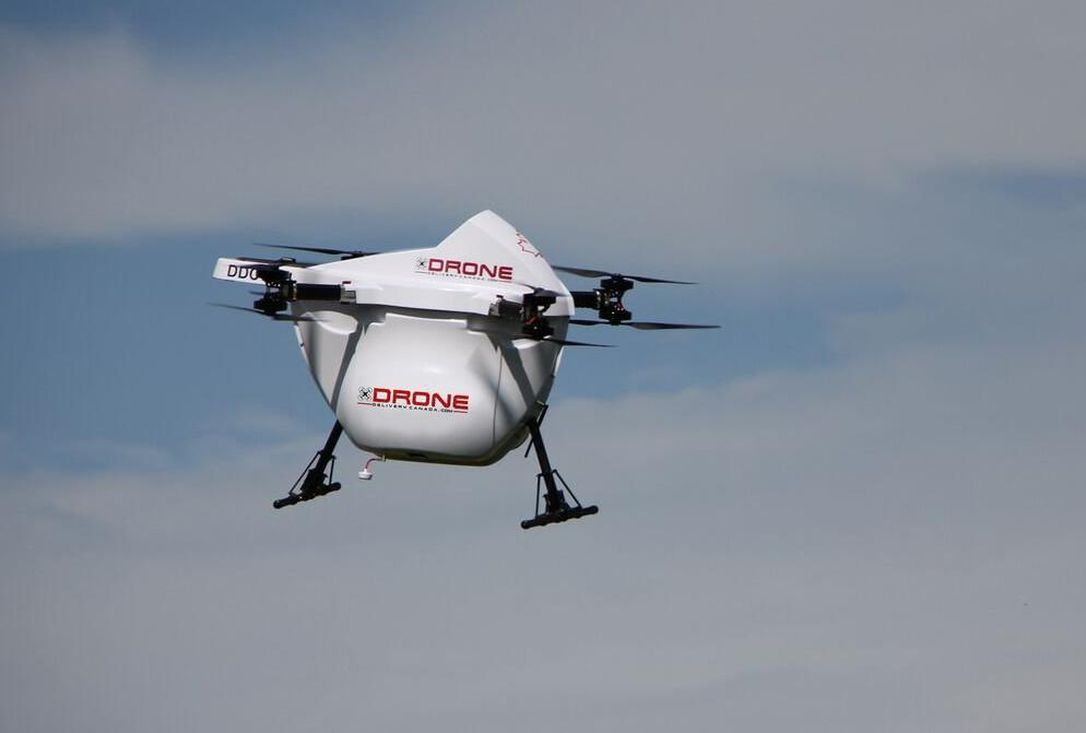 Drone Delivery Canada Drone Flying