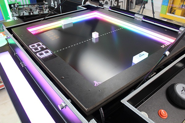 The Atari Pong® Cocktail table