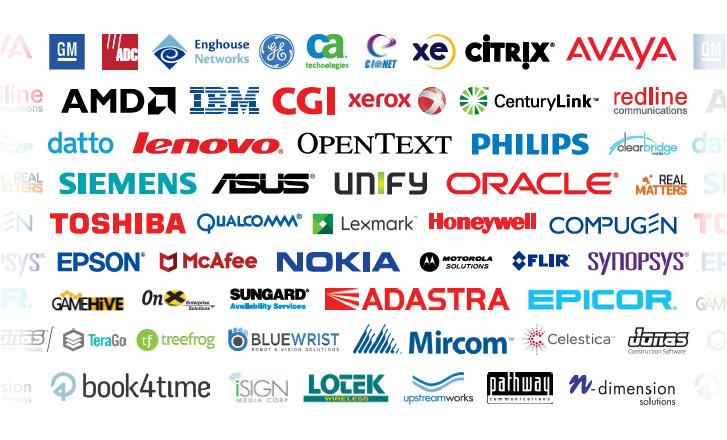 York Region Tech Company Logos