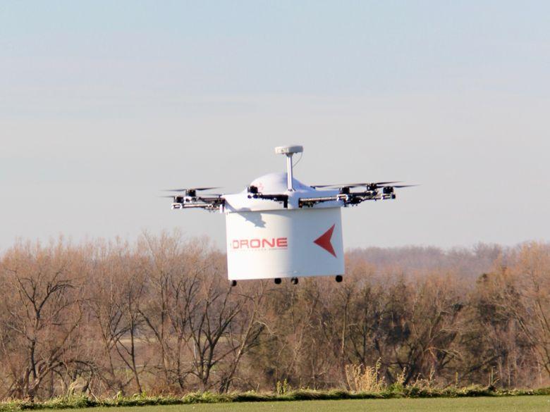 DDC Drone Flying