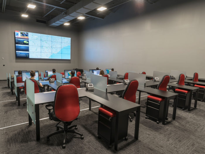Drone Delivery Logistics Room
