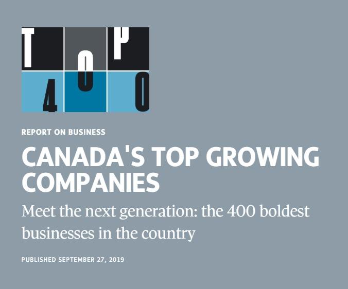 Canada's Top Growing Companies List