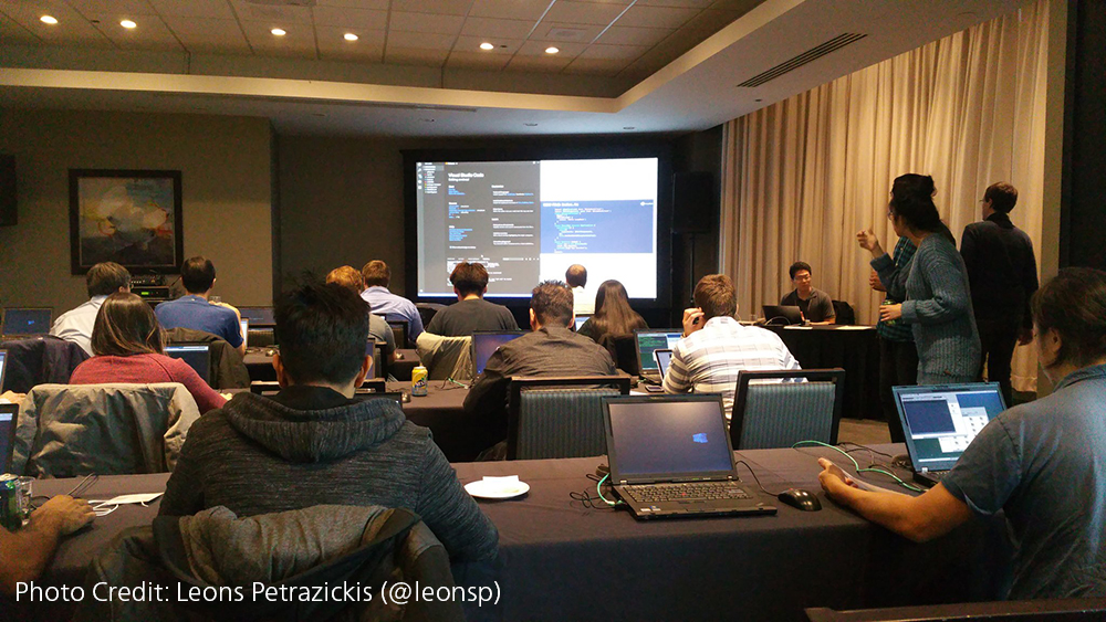 IBM CASCON Conference with Attendees