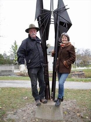 Ron Baird Sculpture in Stouffville, York Region