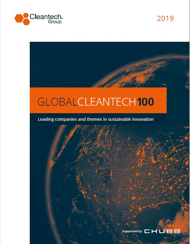 Global Cleantech Report Cover