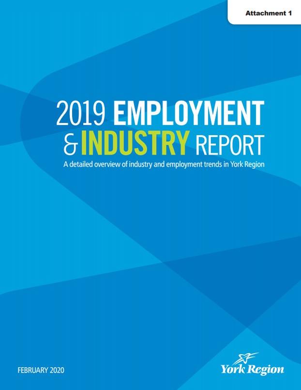 2019 York Region Employment & Industry Report