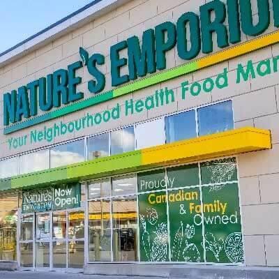 Nature's EMporium store front