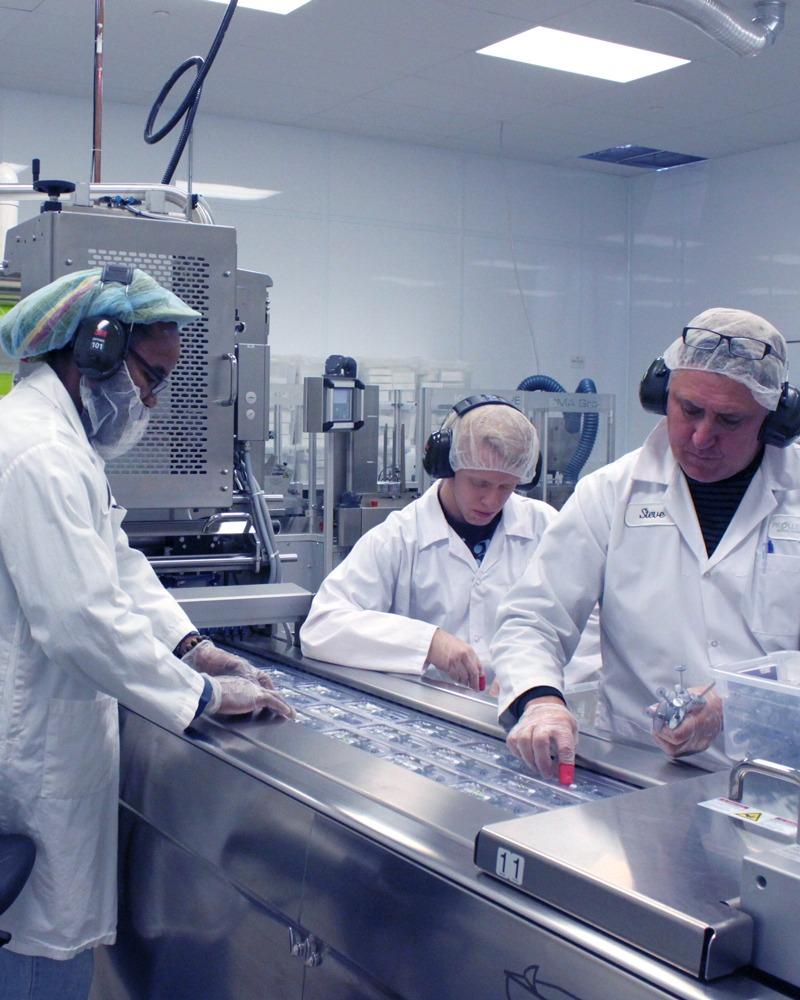 pharmaceutical manufactruing