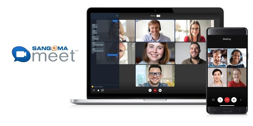 Sangoma Meet video conferencing