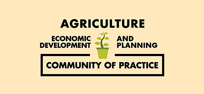 Agriculture ecdev