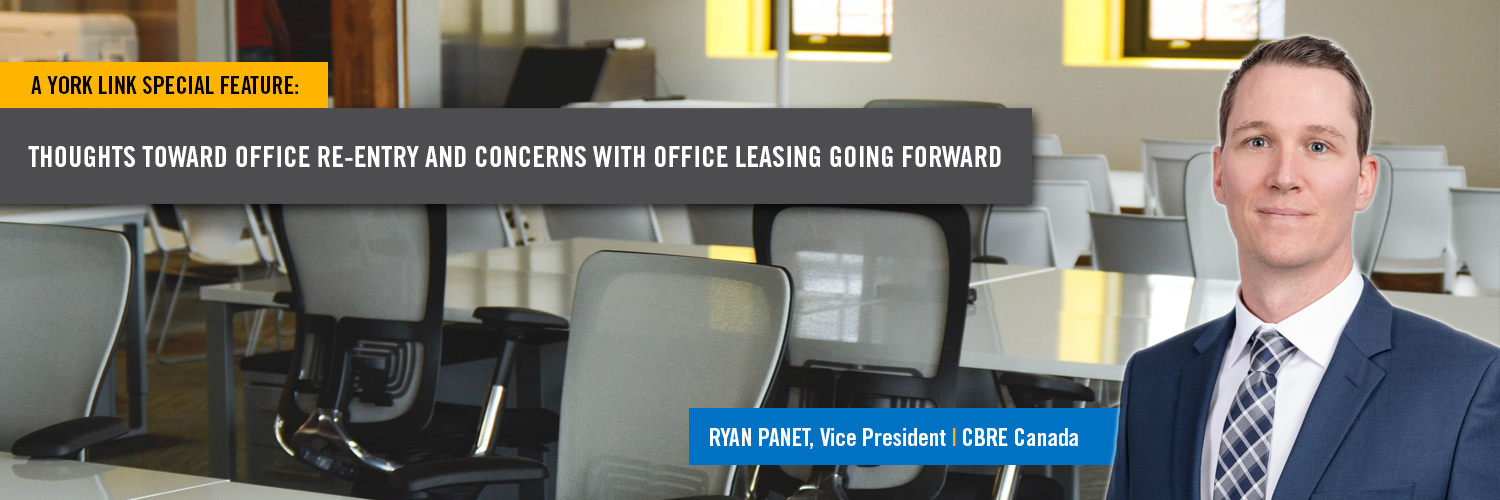 office space with Ryan Panet of CBRE
