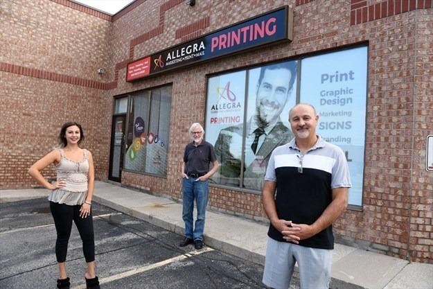Staff from Allegra Marketing