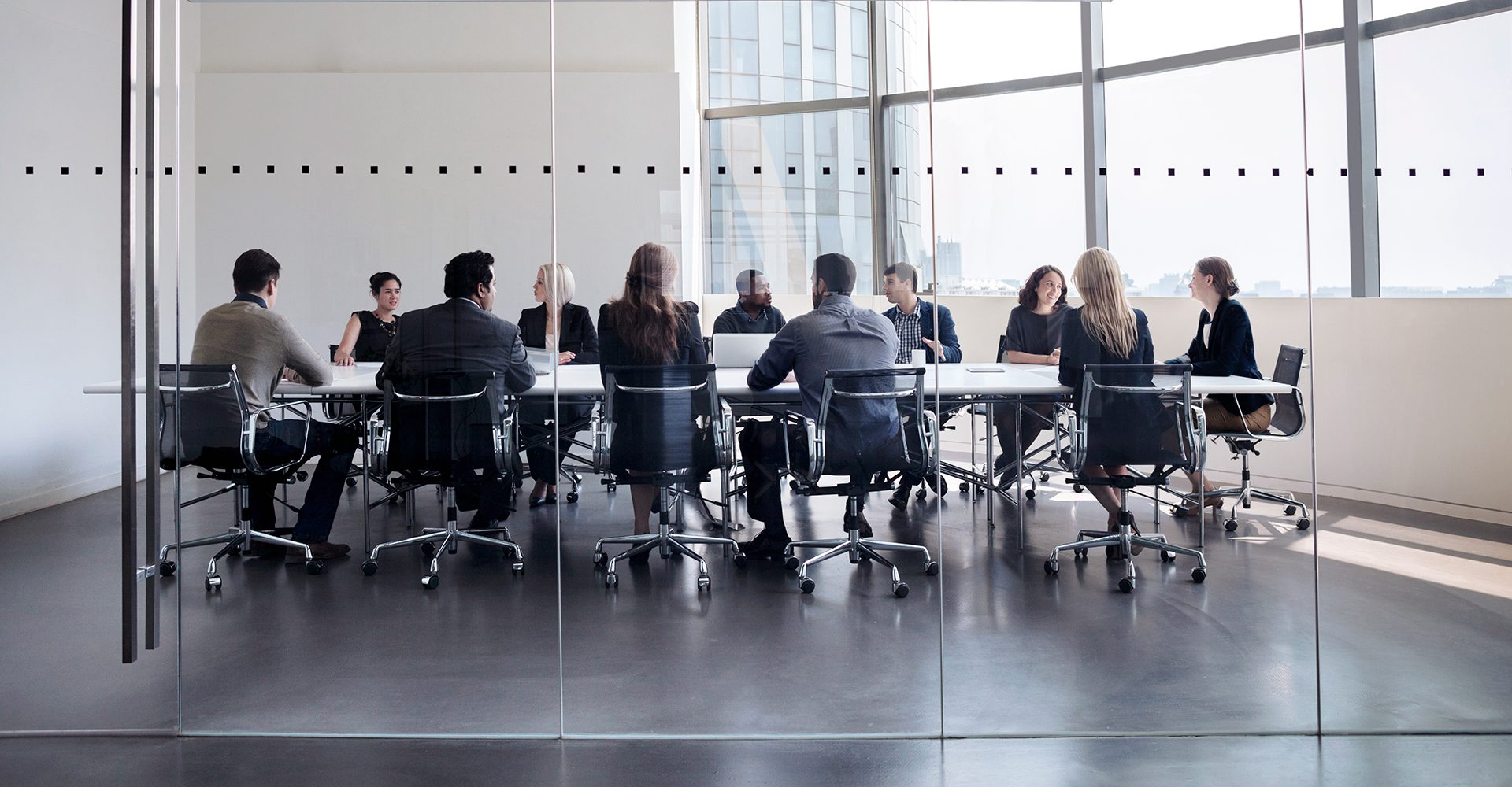 People in a boardroom