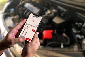 mobile phone reporting car problems