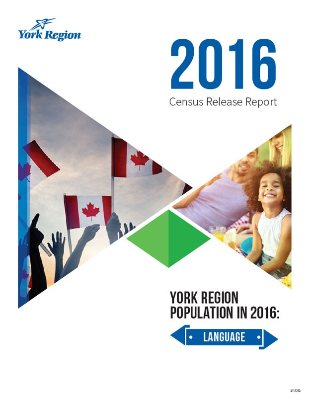 Census York Region Language Cover