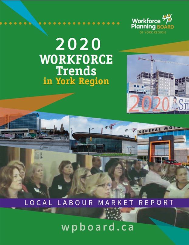 2020 Workforce Trends in York Region Title Page