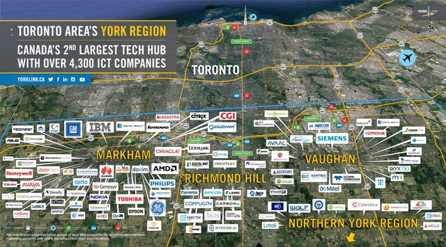 York Region Tech Map