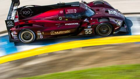 Multimatic Madza red race car