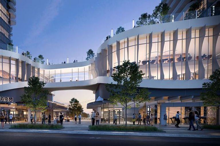 artist rendering of cultural centre in Vaughan